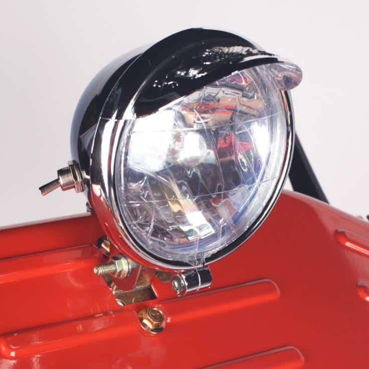 Как сделать свет на мотоблоке без генератора?