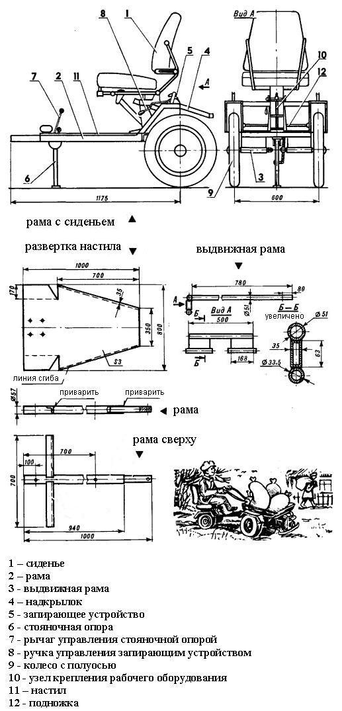 Поэтапная сборка адаптера - чертежи