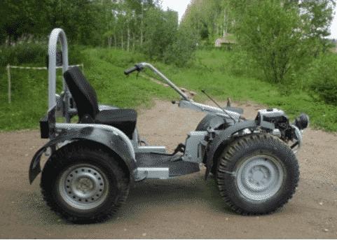Квадроцикл из мотоблока