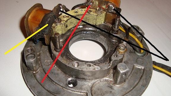 Как сделать зажигание на лодочный мотор 738