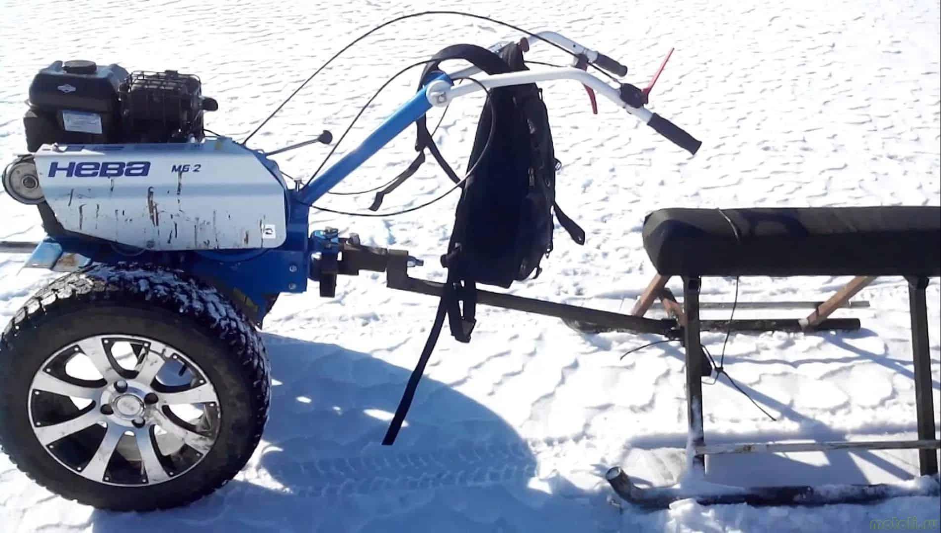 Снегоход своими руками из мотоблока 44