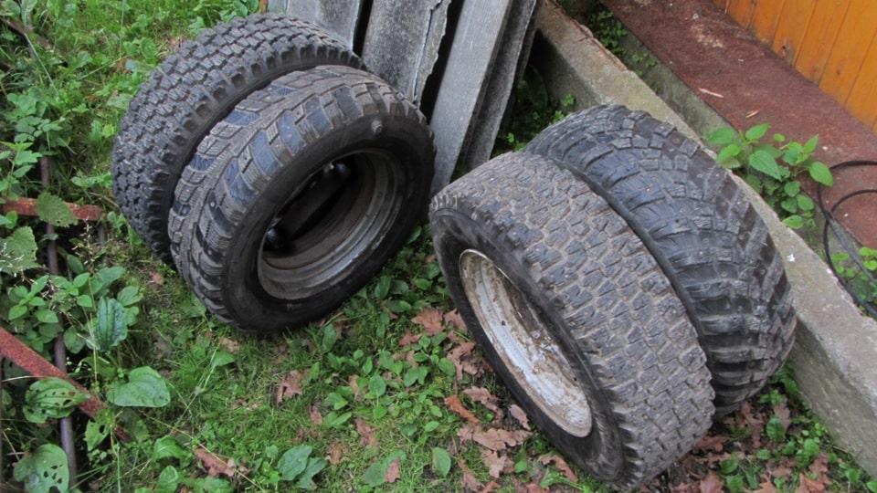 Спаренные колеса для мотоблока