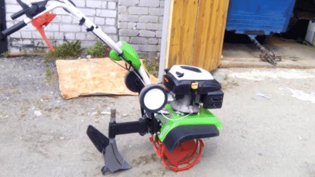 Посадка картошки мотокультиватором
