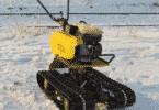 Снегоход из культиватора
