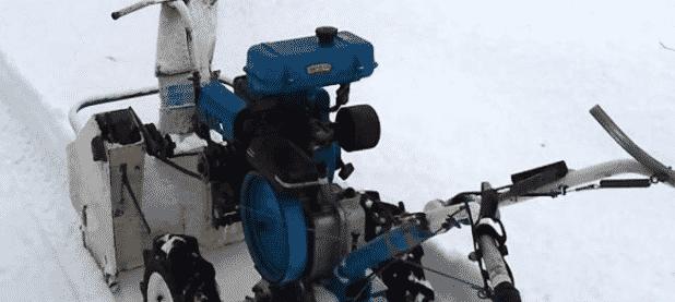 Снегоуборщик из мотокультиватора