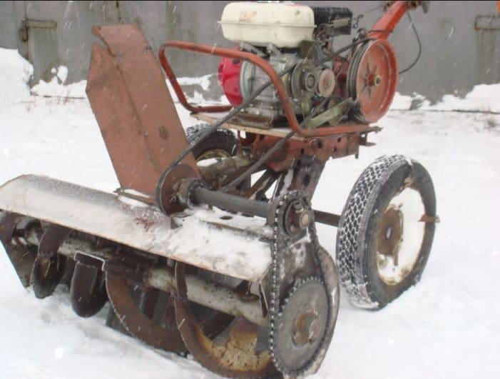Снегоуборщик своими руками из мотокультиватора