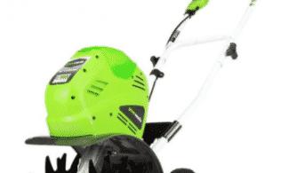 Аккумуляторный смарт-культиватор GreenWorks G40TLK2