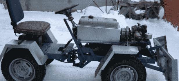 Kak sdelat samodelnyj traktor iz ZHigulej - Что можно сделать из жигулевского двигателя