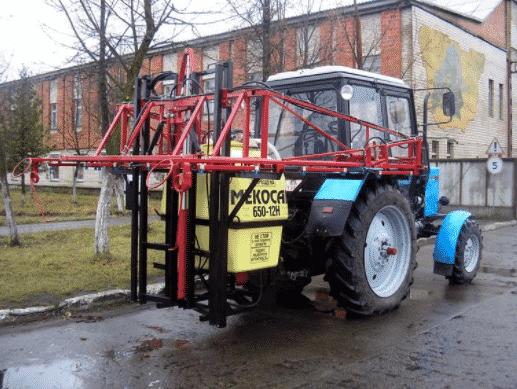 Опрыскиватель навесной для трактора