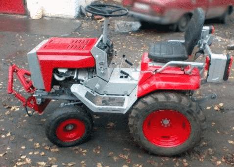 Особенности трактора КМЗ-012