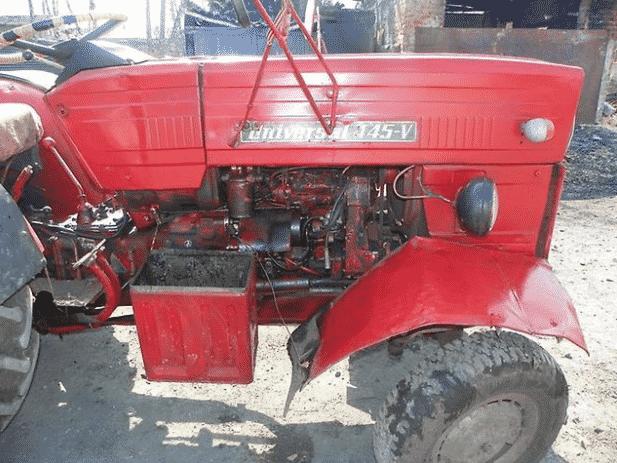 Особенности трактора Universal 445V