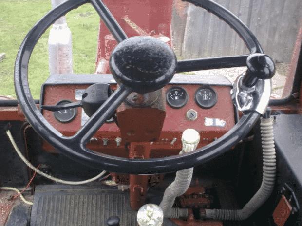 Рулевое управление трактора Т-16