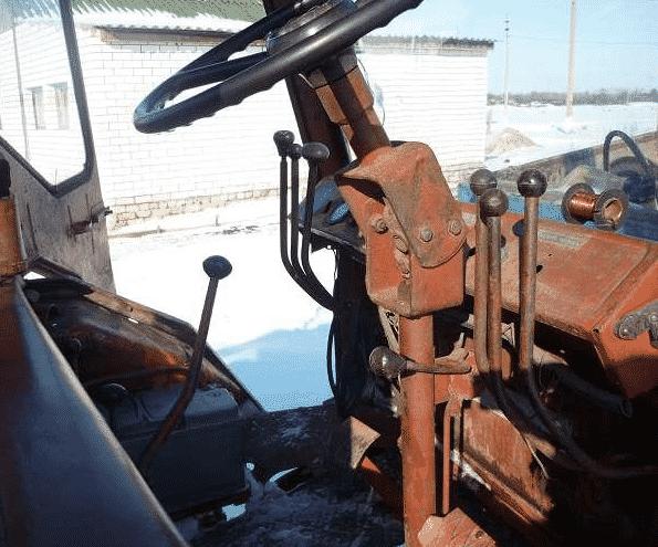 Рулевое управление трактора Т-25
