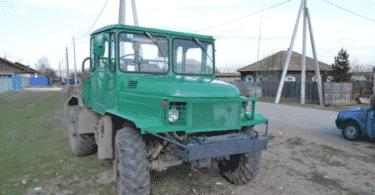 Самодельные трактора на базе ГАЗ