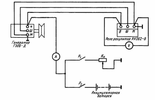 Схема подключения осветительных приборов для трактора