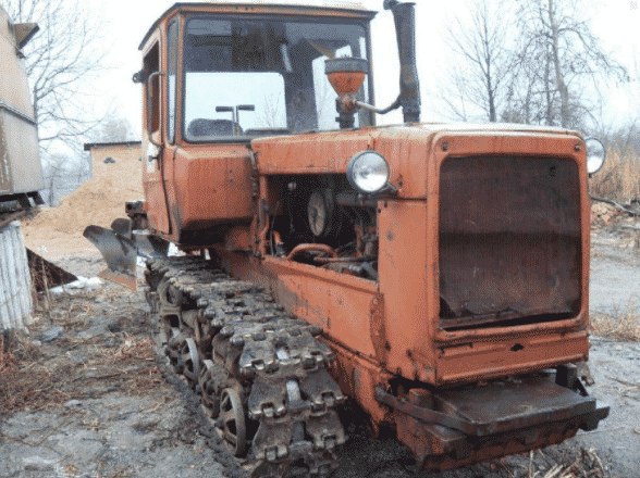 Трактор ДТ-75 технические характеристики
