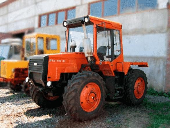 Трактор ЛТЗ-155