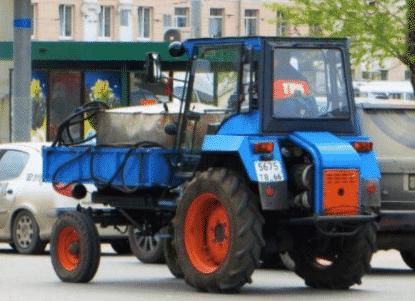 Трактор ВТЗ-30СШ, особенности