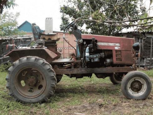 Ttraktor iz ZHigulej - Что можно сделать из жигулевского двигателя