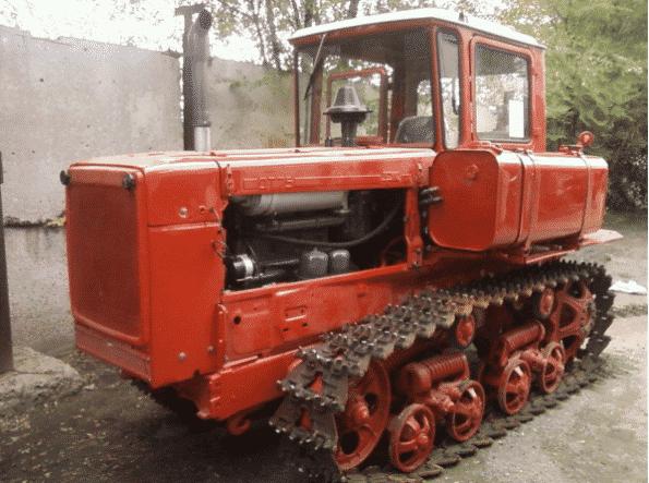 Устройство трактора 75 ДТ