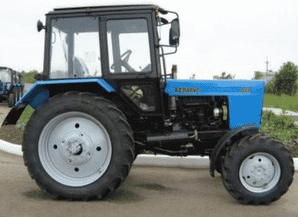 Устройство трактора МТЗ-82