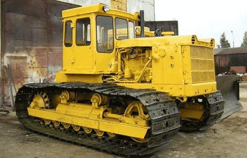 Устройство трактора Т 130