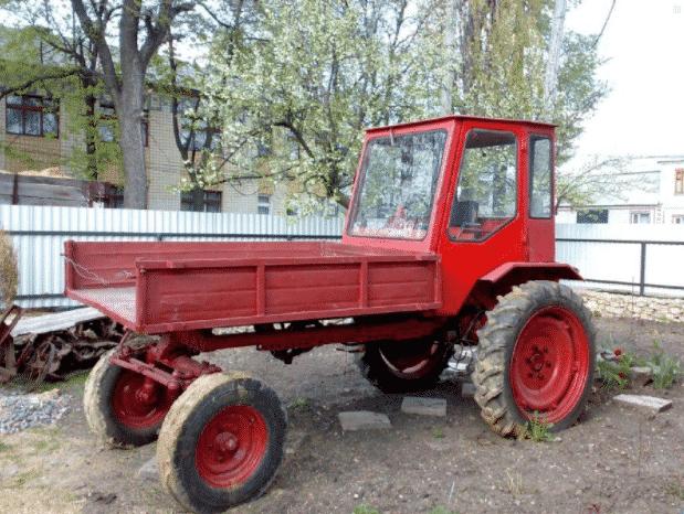 Устройство трактора Т-16