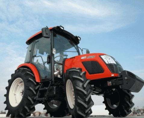 Корейский трактор Кioti