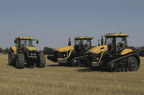 Модельный ряд тракторов Челленджер