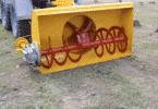Роторный снегоуборщик для трактора