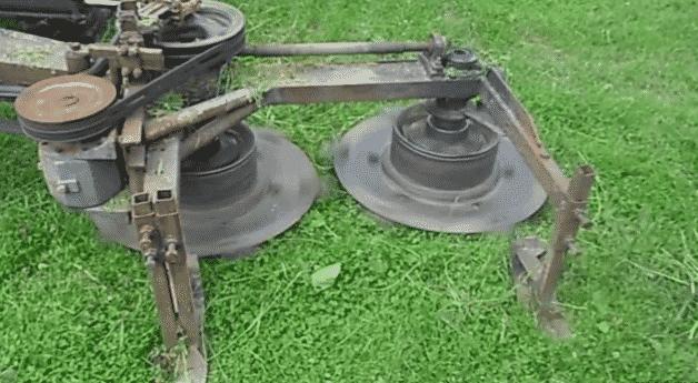 Самодельная роторная сенокосилка