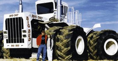 Big Bud-747 фото трактора