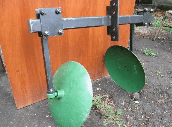 Дисковые окучники для минитрактора