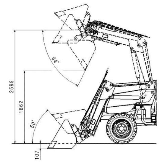 Изготовление куна на минитрактор, чертеж