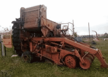 Картофелеуборочный комбайн КПК-3