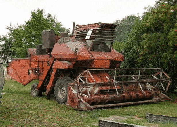 Колос комбайн зерноуборочный