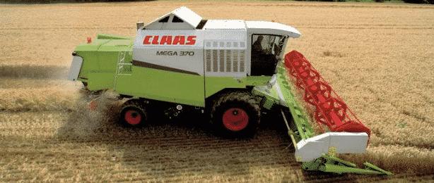 Комбайн Claas Mega 370