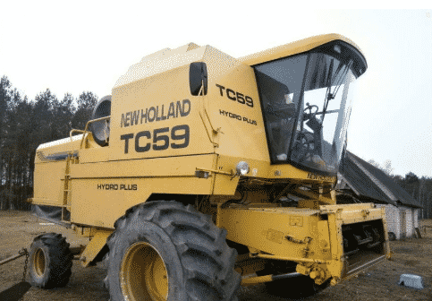 Комбайн New Holland TC 59