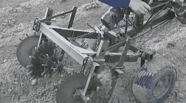 Культиватор игольчатые диски для минитрактора