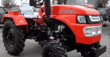 Модификации мини трактора «Уралец» 220