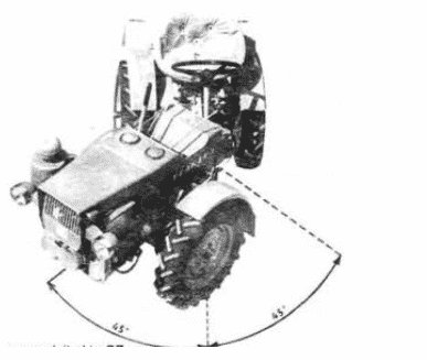 Схема Чешский минитрактор TZ-4K-14