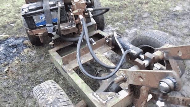 Создание гидравлики для минитрактора из ВАЗа