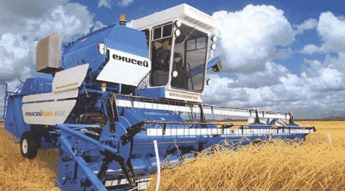 Зерноуборочный комбайн Енисей