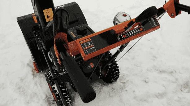 2-е место – Patriot PRO 655 E в рейтенге снегоуборщиков