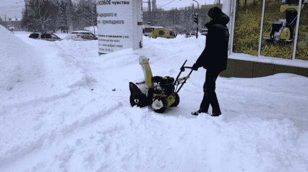 5-е место – RedVerg RD24065 в рейтенге снегоуборщиков