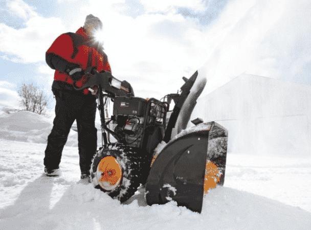 Колесная система передвижения снегоуборщиков