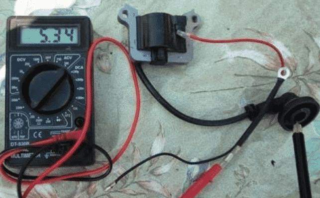 Как проверить катушку зажигания бензопилы