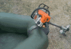 Как сделать лодочный мотор из бензопилы своими руками