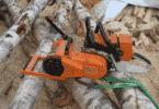 Насадка-лебедка на бензопилу