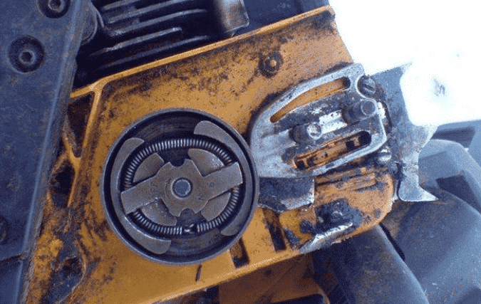 Как поменять сцепление на бензопиле